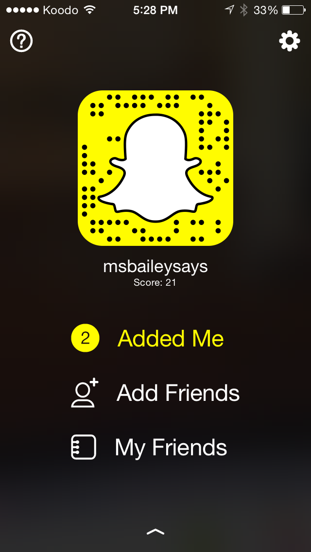 Add me to see my posts this term!
