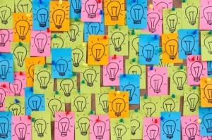 ideas lightbulbs DT