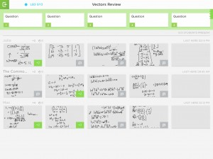 Teacher overview on Classkick
